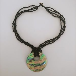 New Zealand Abalone Shell Necklace